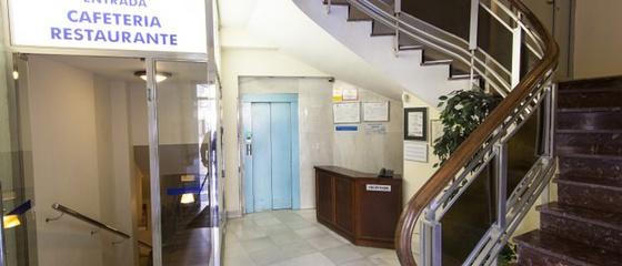Reception 24 ore su 24 Hotel Torreluz Centro