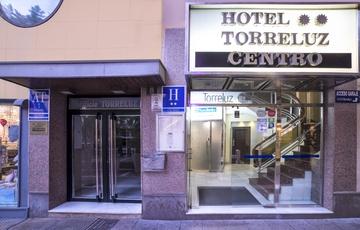 Ingresso Hotel Torreluz Centro